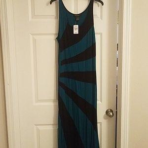 Multicolored Tank Dress